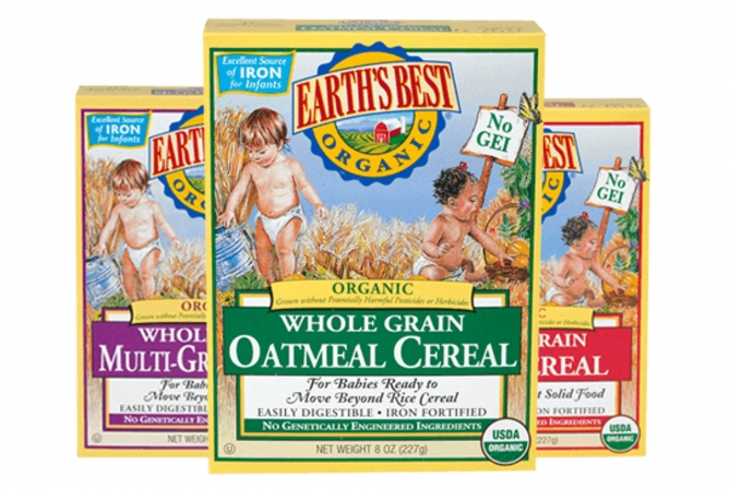 Earth's Best Baby Food Review Cereal Options