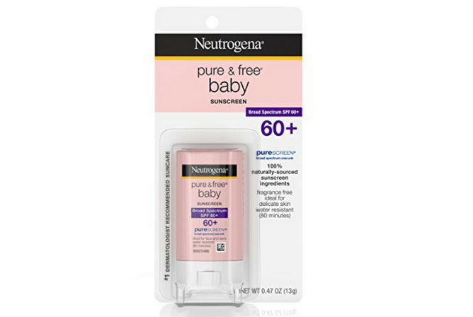 Neutrogena Pure & Free Baby Sunscreen Stick