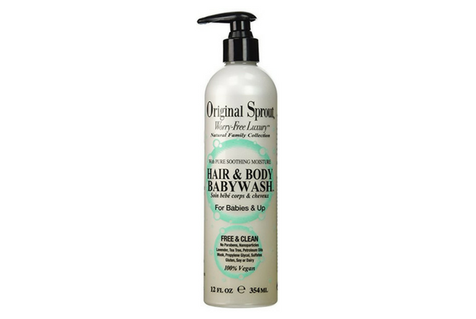 Original Sprout Hair and Body Baby Wash