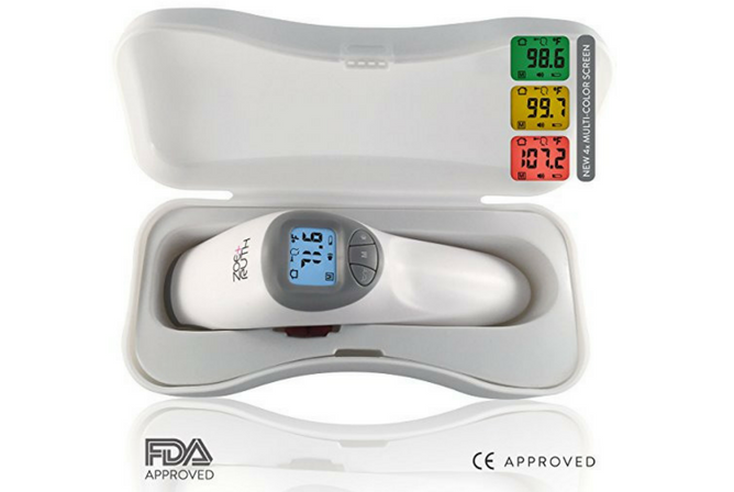 Zoe+Ruth Digital Infrared Non-Contact Forehead Fever Thermometer