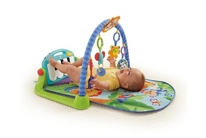 Best Infant Toys Fisher-Price Kick & Play Piano Gym