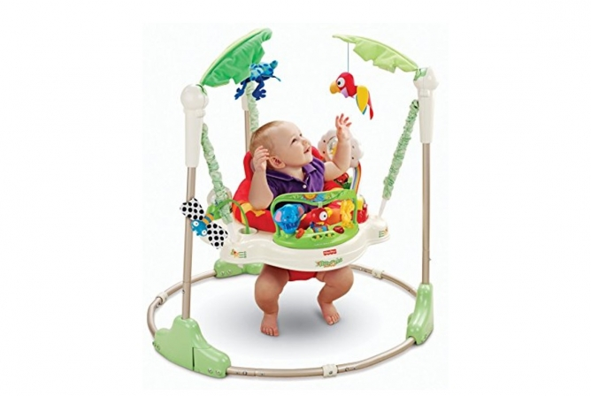 Best Infant Toys Fisher-Price Rainforest Jumperoo