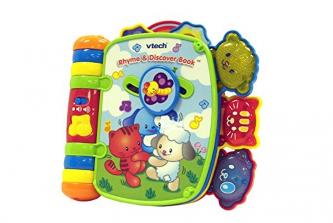 Best Infant Toys VTech Rhyme and Discover Book