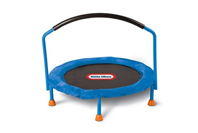 Best Outdoor Toys for Toddlers Little Tikes 3' Trampoline
