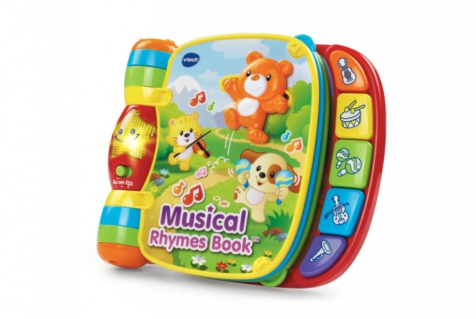 Best Toddler Toys VTech Musical Rhymes Book