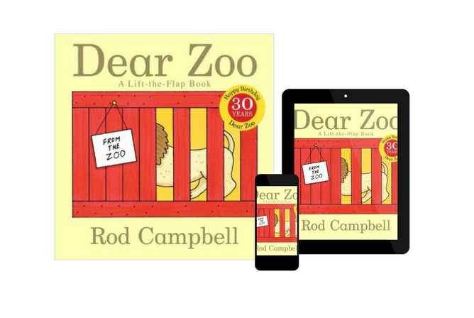 Dear Zoo A Lift-the-Flap Book, by Rod Campbell