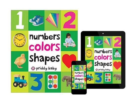 First 100 Soft to Touch Numbers, Shapes and Colors, by Roger Priddy