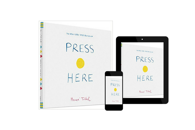 Press Here, by Herve Tullet