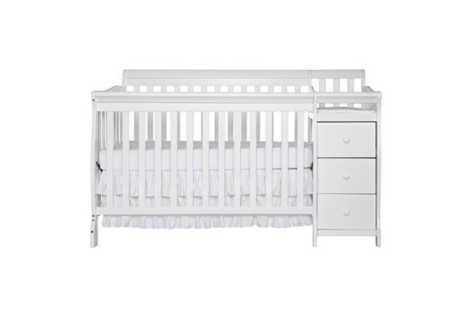 Dream On Me 5 in 1 Brody Convertible Crib with Changer