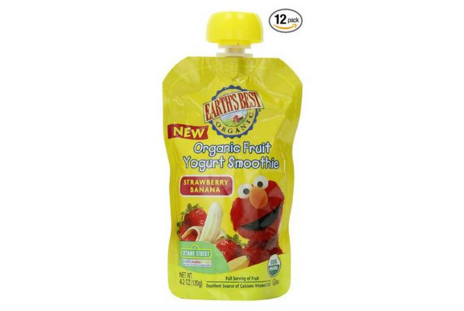 Earth's Best Organic Fruit Yogurt Smoothie