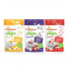Happy Baby Organic Yogis Freeze-Dried Yogurt & Fruit Snacks, 3 Flavor Variety Pack, 1 Ounce