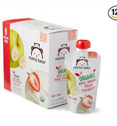 Mama Bear Organic Baby Food Pouch