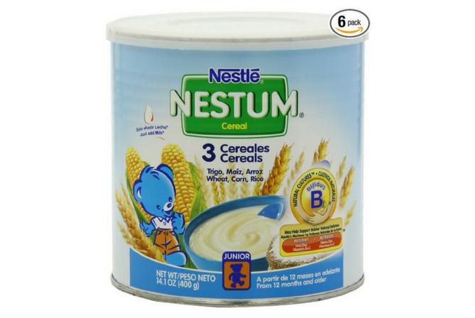 Nestle Nestum 3 Cereals