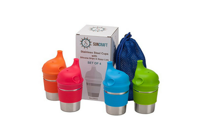 Silicone Sippy Cup Lids Kids Toddler Spill Proof Trainer Bottle Glass Sip Lid